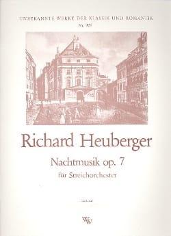 Nachtmusik op. 7 -Partitur + Stimmen Richard Heuberger laflutedepan