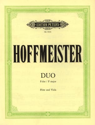 Franz Anton Hoffmeister - Duo in F-Dur - Flute and Viola - Sheet Music - di-arezzo.com