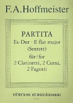 Partita Es-Dur - 2 Clarinetti 2 corni 2 fagotti - Stimmen laflutedepan