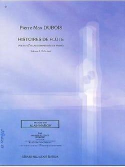 Histoires de flûtes - Volume 1 - Pierre-Max Dubois - laflutedepan.com