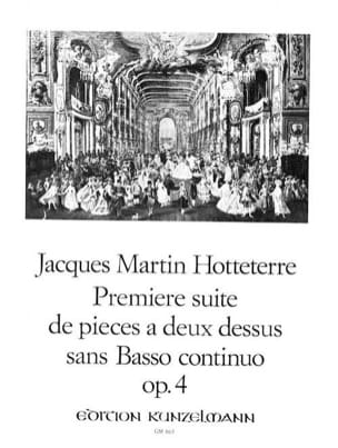 Jacques (Le Romain) Hotteterre - First Suite of 2 pieces with no bass - Partition - di-arezzo.co.uk