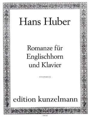 Hans Huber - Romanze - Cor Anglais et Piano - Partition - di-arezzo.fr