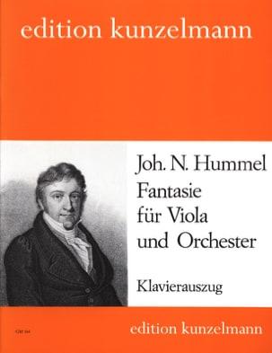 HUMMEL - Fantasie - Viola - Sheet Music - di-arezzo.co.uk