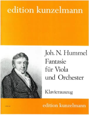 Johann Nepomuk Hummel - Fantasie – Viola - Partition - di-arezzo.fr