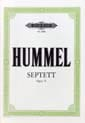 HUMMEL - Septuor, Op. 74 - Flute-Oboe-Cor-Alto-Cello-Double-bass-Piano - Sheet Music - di-arezzo.co.uk