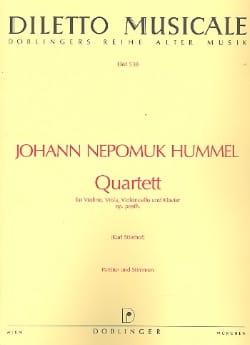 Quartett op. posth. (Vl., Vla., Vc. u. Klav.) – Stimmen + Partitur - laflutedepan.com