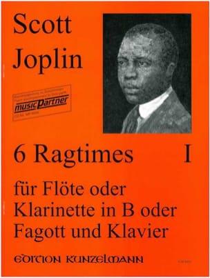 Scott Joplin - 6 Ragtimes Bd. 1 - Flöte o. Klarinette, Fagott Klavier - Sheet Music - di-arezzo.com