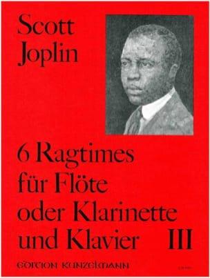 6 Ragtimes Bd. 3 - Flöte o. Klarinette Klavier - laflutedepan.com