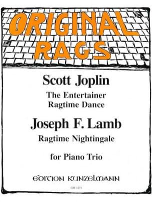 Joplin Scott / Lamb Joseph F. - The Entertainer - Ragtime Dance / Ragtime Nightingale - Partitura - di-arezzo.es