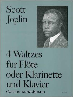 4 Walzer - Flöte o. Klarinette Klavier JOPLIN Partition laflutedepan