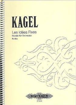 Les idées fixes - Partitur Mauricio Kagel Partition laflutedepan
