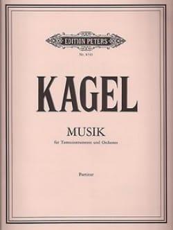 Musik - Partitur - Mauricio Kagel - Partition - laflutedepan.com
