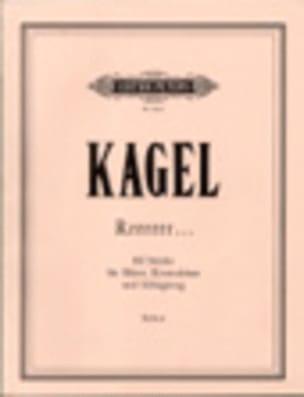 Rrrrr... - Mauricio Kagel - Partition - laflutedepan.com