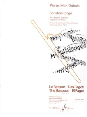 Pierre-Max Dubois - Sonatine Tango - Sheet Music - di-arezzo.co.uk
