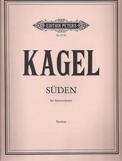 Mauricio Kagel - Süden – Partitur - Partition - di-arezzo.fr