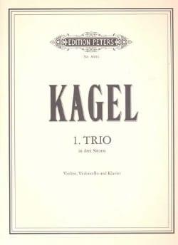 Trio n° 1 Mauricio Kagel Partition Trios - laflutedepan