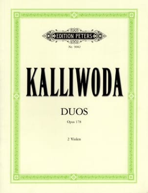 Johannes Wenzeslaus Kalliwoda - Duos op. 178 - 2 Altos - Sheet Music - di-arezzo.co.uk