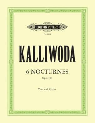 Johannes Wenzeslaus Kalliwoda - 6 Nocturnes op. 186 - Partition - di-arezzo.fr