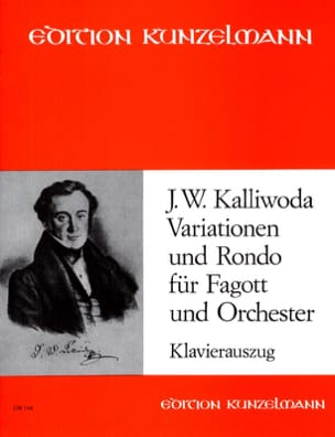 Johannes Wenzeslaus Kalliwoda - Variationen und Rondo Op 57 -fagott Klavier - Partition - di-arezzo.fr