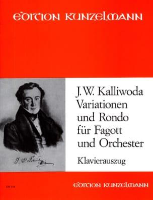 Johannes Wenzeslaus Kalliwoda - Variationen and Rondo Op 57 - fagott Klavier - Partitura - di-arezzo.es