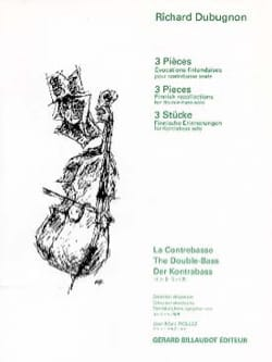 Richard Dubugnon - 3 pieces - Sheet Music - di-arezzo.com