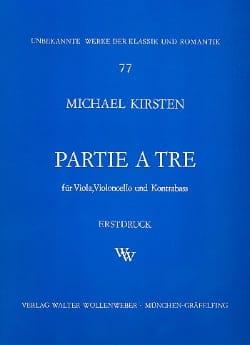 Partie a tre -Stimmen Michael Kirsten Partition Trios - laflutedepan