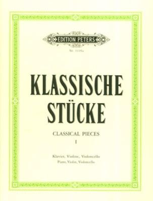 Carl Hermann - Klassische Stücke Bd. 1 – Trio - Partition - di-arezzo.fr