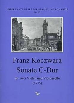 Sonate C-dur –2 Violen Cello - Franz Koczwara - laflutedepan.com