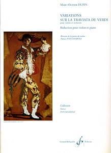 Variations sur La Traviata de Verdi - laflutedepan.com