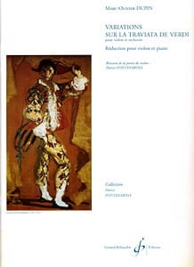 Marc-Olivier Dupin - Variations on La Traviata by Verdi - Sheet Music - di-arezzo.com