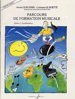 Duplessis Annick / le Boëtte Catherine - Music Training Course - Volume 1 - Student with K7 - Sheet Music - di-arezzo.com