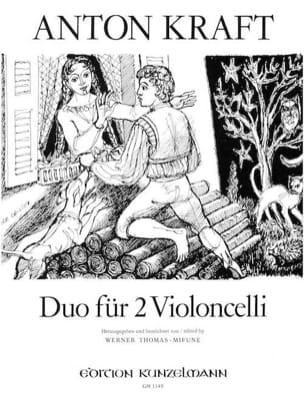Anton Kraft - Duos für 2 Violoncello - Partition - di-arezzo.fr