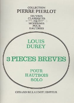 3 Pièces brèves - Louis Durey - Partition - laflutedepan.com