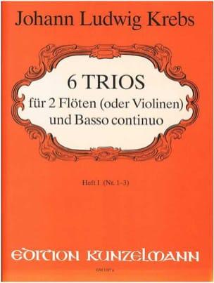 6 Trios - Heft 1 –2 Flöten (Violinen) Bc - laflutedepan.com