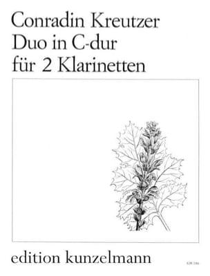 Conradin Kreutzer - Duo C-hard - 2 Klarinetten - Sheet Music - di-arezzo.com