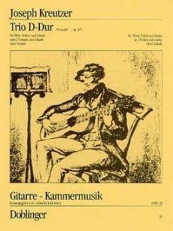 Trio D-Dur op. 9/3 -Flöte Violine Gitarre laflutedepan