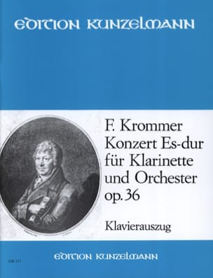 Franz Krommer - Concerto Op. 36 in Eb Major - Sheet Music - di-arezzo.co.uk