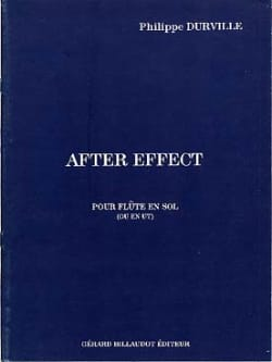 After effect - Philippe Durville - Partition - laflutedepan.com