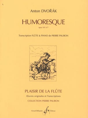 DVORAK - Humoresque op. 101 n ° 7 - Sheet Music - di-arezzo.co.uk
