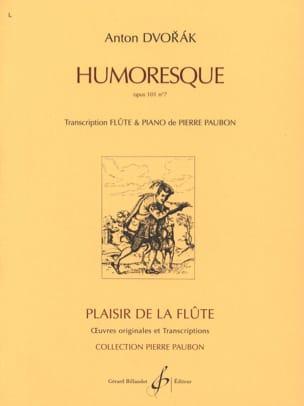 Antonin Dvorak - Humoresque op. 101 n° 7 – Flûte piano - Partition - di-arezzo.fr