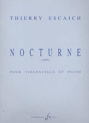 Nocturne - Thierry Escaich - Partition - laflutedepan.com