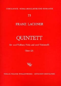 Streichquintett op. 121 –Stimmen - Franz Lachner - laflutedepan.com