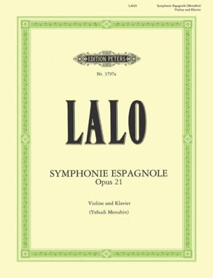 Edouard Lalo - Symphonie espagnole op. 21 Menuhin - Partition - di-arezzo.fr