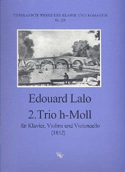 Trio Nr. 2 en Si Mineur 1852 LALO Partition Trios - laflutedepan