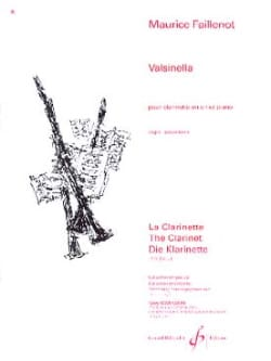 Maurice Faillenot - Valsinella - Sheet Music - di-arezzo.co.uk