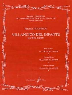 Maurice Faillenot - Villancico del Infante - Partition - di-arezzo.fr