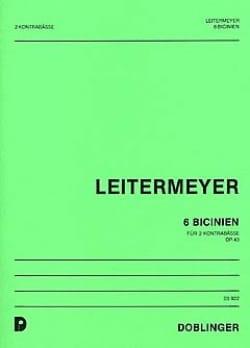 6 Bicinien op. 43 - Fritz Leitermeyer - Partition - laflutedepan.com