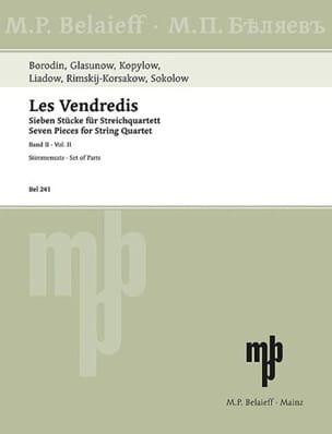 Les Vendredis -Band 2 -Streichquartett - laflutedepan.com