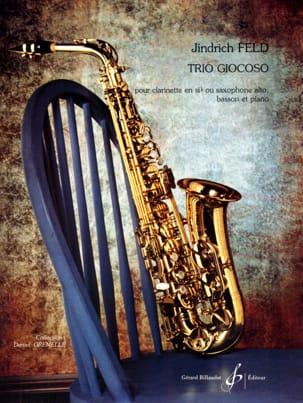 Trio Giocoso - Jindrich Feld - Partition - Trios - laflutedepan.com
