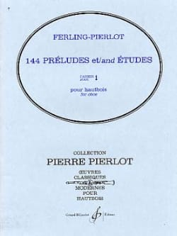 Ferling Franz W. / Pierlot Pierre - 144 Preludes and Studies Booklet 1 - Sheet Music - di-arezzo.co.uk